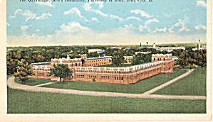The Quadrangel  Mens Dormitory University of Iowa p28240 (Image1)