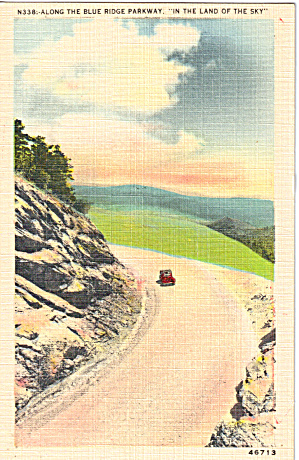 Blue Ridge Parkway in The Land of the Sky (Image1)
