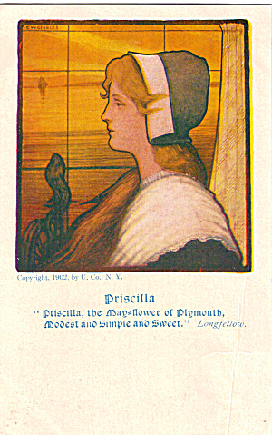 Priscilla the May-Flower of Plimouth (Image1)