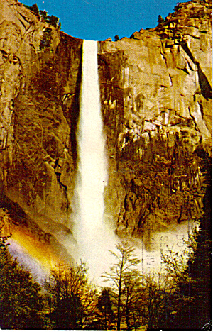 Bridialveil Falls, Yosemite National Park (Image1)