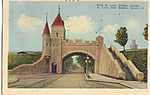 St Louis Gate Quebec City Quebec Canada P28300