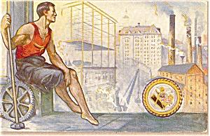 Labor Day Postcard p2830 (Image1)