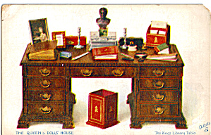 Kings Library Table Postcard Raphael Tuck