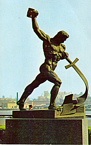 Russian Statue by Eugeniv Vuchetich (USSR) (Image1)