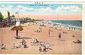 Scene at a Florida Beach p28324 (Image1)