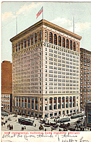 New Commercial National Bank Chicago Illinois P28326