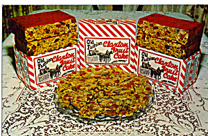 Old Fashioned Claxton Fruit Cake Postcard P28339