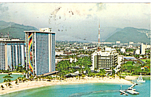 Hilton Hawaiian Village Postcard P28364