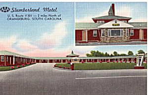 Slumberland Motel Orangeburg South Carolina P28373