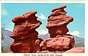 Siamese Twins Garden Of The Gods Colorado P28379
