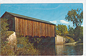 Covered Bridge Near Greenfield, New Hampshire (Image1)