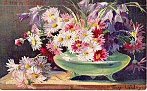 Happy Birthday Still Life Mary Golay 1907