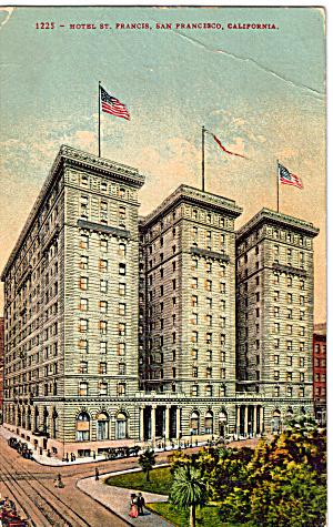 St Francis Hotel,San Francisco,California (Image1)