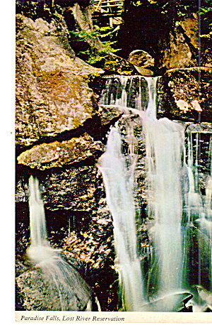 Paradise Falls, Lost River Gorge, North  Woodstock (Image1)