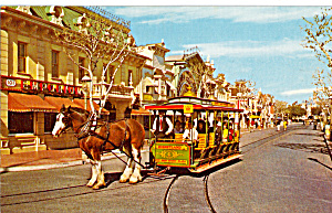 Horse Drawn Street Car  Disneyland  p28432 (Image1)