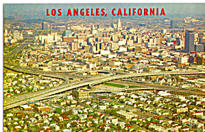 Aerial View of Downtown Los Angeles CA p28442 (Image1)