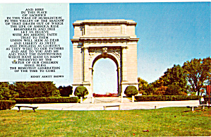 National Memorial Arch,valley Forge National Historic P28448