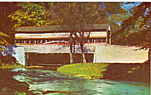 Old Covered Bridge, Valley Forge Pennsylvania (Image1)
