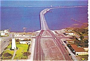 Queen Isabella Causeway TX Postcard p2845 (Image1)