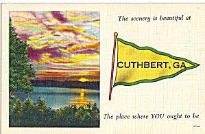 The scenery  is beautiful at Cuthbert, Georgia Pennant (Image1)