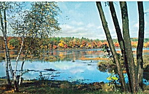Lake Scene in the Poconos (Image1)