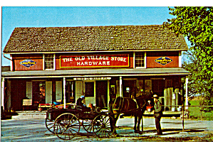 Amish Buckboard At Bird In Hand Old Time Hardware Store P28564