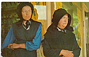 Amish Mother and Daughter in Sunday Best p28739 (Image1)