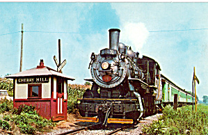 Train of Strasburg Railroad at Cherry Hill Station p28768 (Image1)