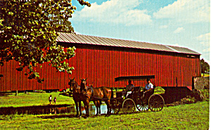 Red Run Covered Bridge, New Holland, Pennsylvania (Image1)