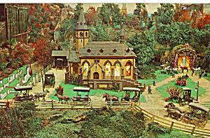 Miniature Church at Roadside America p28852 (Image1)