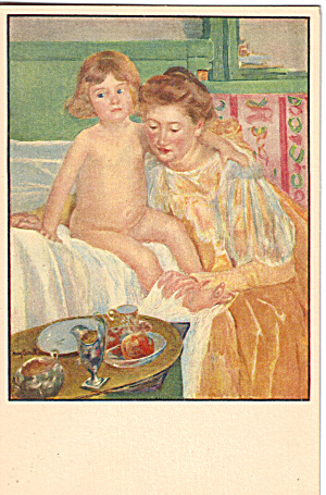 Mary Cassatt Mother And Child Postcard P28939