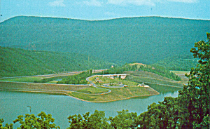 Raystown Dam On The Juniata River P28989