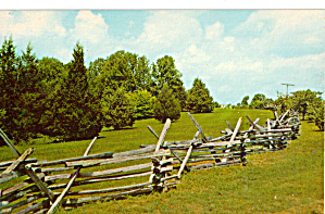 Rail Fence at Abraham Lincoln Birthplace (Image1)