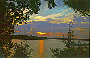 Lake Country Sunset, North East Nazarene Center (Image1)