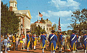Liberty Square Ffe and Drum Corps Walt Disney World  p29024 (Image1)