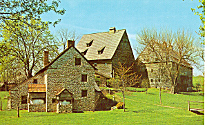 Historic Ephrata Cloister  Ephrata Pennsylvania p29031 (Image1)