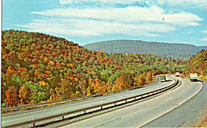 Pennsylvania Turnpike Near Bedford, Pennsylvania
