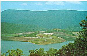 Raystown Dam Huntingdon PA Postcard p29046 (Image1)