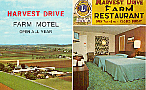 Harvest Drive Farm Motel Gordonville Pennsylvania P29105