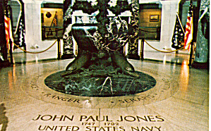 Crypt Of John Paul Jones Naval Academy Chapel Annapolis Mdp29141