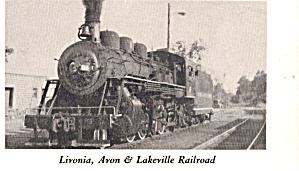 Livonia Avon and Lakeville Railroad No 17 p29155 (Image1)