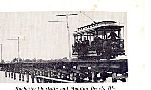 Rochester-Charlotte and Manitou Beach Rly. No.10 (Image1)