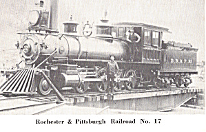 Rochester and Pittsburgh Railroad No 17 p29161 (Image1)