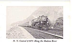N Y Central No  5271 Along The Hudson River p29164 (Image1)