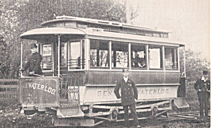 Geneva,NY and Waterloo Trolley No.2 (Image1)