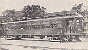 Lake Erie Traction Co Trolley  No. 1907 (Image1)