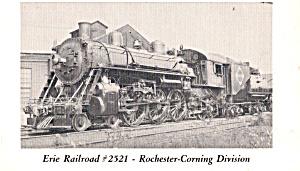 Erie Railroad No 252  Rochester Corning Division p29172 (Image1)