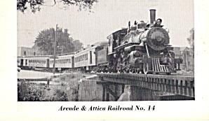Arcada and Attica Railroad No 14  p29174 (Image1)