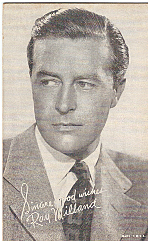 Ray Milland Arcade Card (Image1)