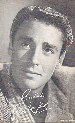 Peter Lawford Arcade Card p29196A (Image1)